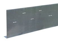 Metal formwork for concrete 90° flat