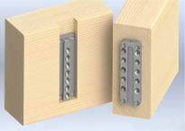 Blinde houtverbindingen