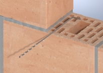 Wall ties for brick structures