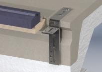 Verstelbare kozijn-vloerverbindingen