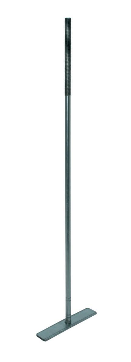 Muurplaatanker met plaat centrisch M12 600 PL 150 dl>120 VD
