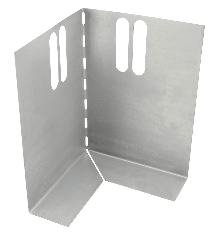 Hoekstuk t.b.v. metalen randkist 220x300 SV