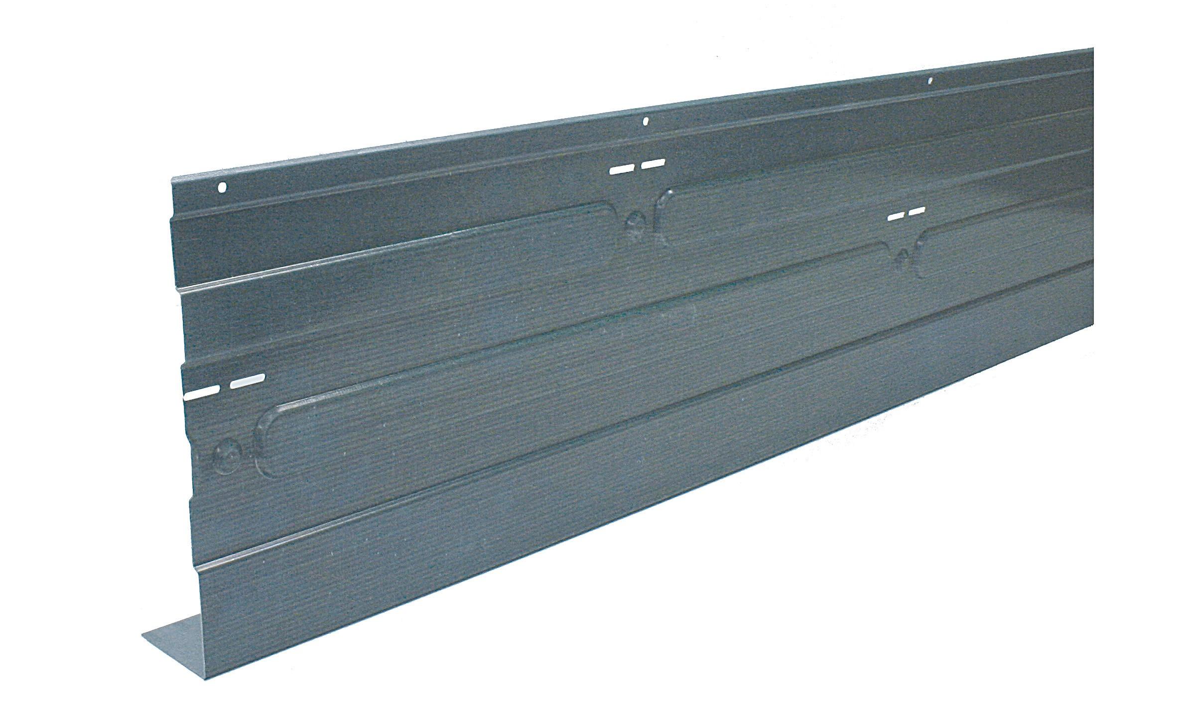 Metalen randkist 330x2000 SV