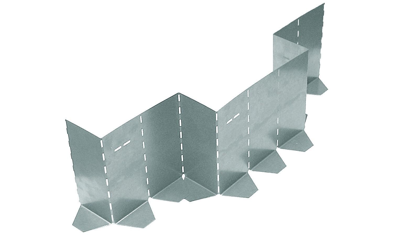 Metalen vouwbekisting 230x1000 SV