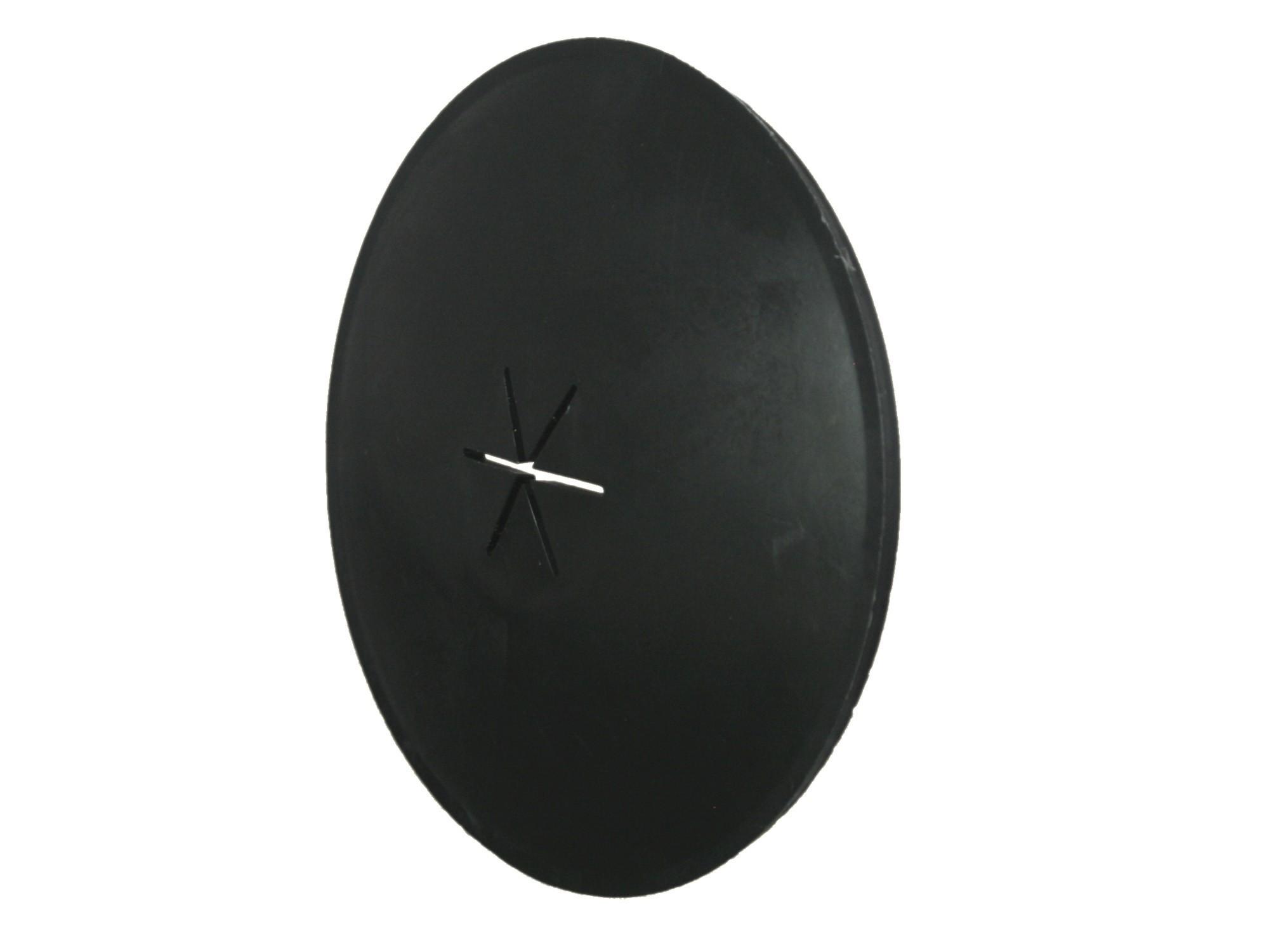 Klemring zwart Ø80 KS