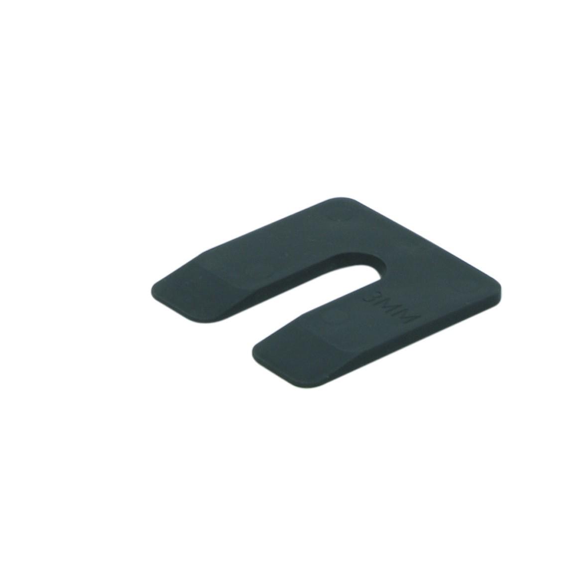 Uitvulplaatje zwart 3 50x50 KS