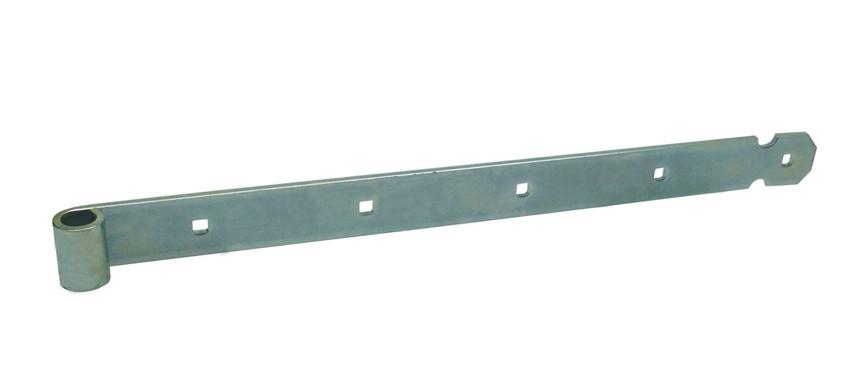 Heng voor pen Ø16 vierkante gaten 600 45x6 EV