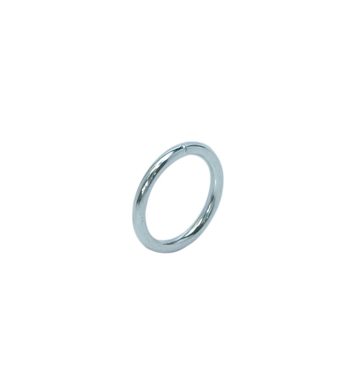 Ring licht (gelast) 25x4 Ø3,9 EV