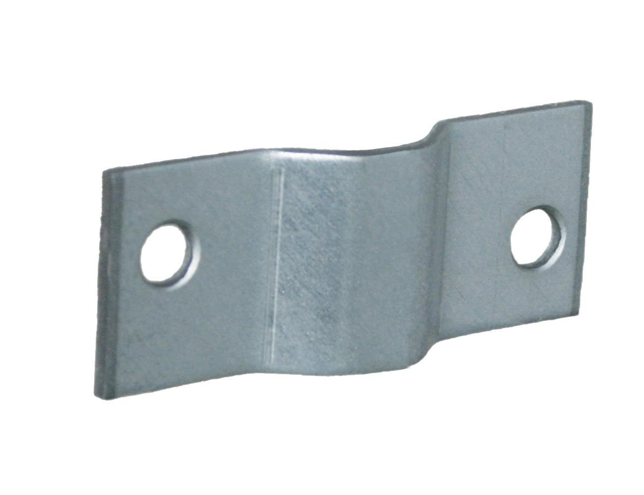 Gaaspaneelklem dubbel voor 5/6/8 mm gaas 50x20 2 ZM