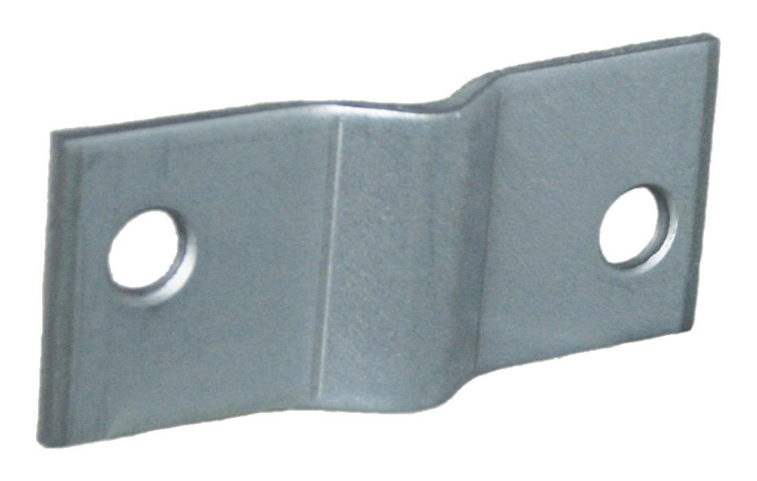 Gaaspaneelklem voor 5 mm gaas 50x20 2 304
