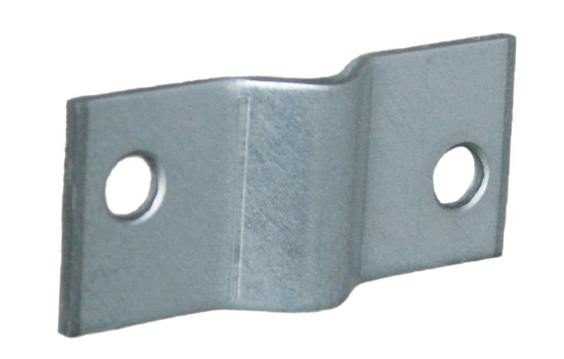 Gaaspaneelklem voor 6 mm gaas 50x20 2 304