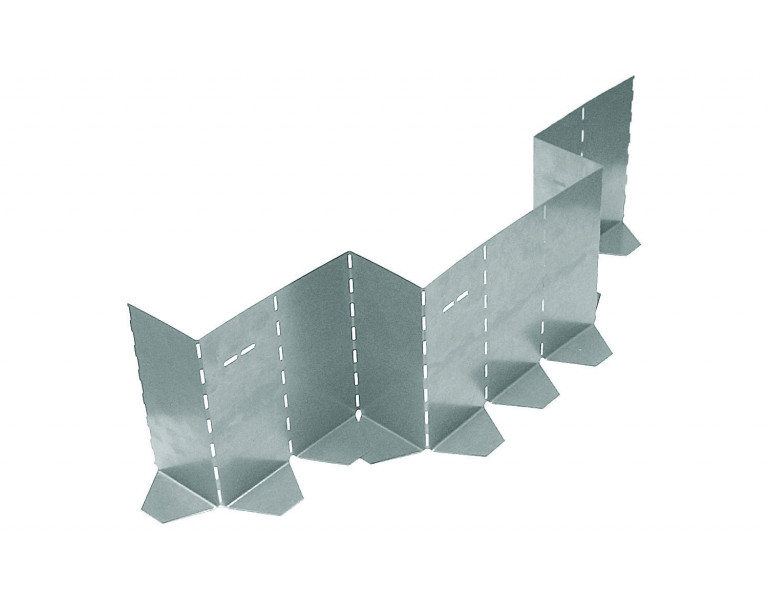Metalen vouwbekisting 150x1000 SV