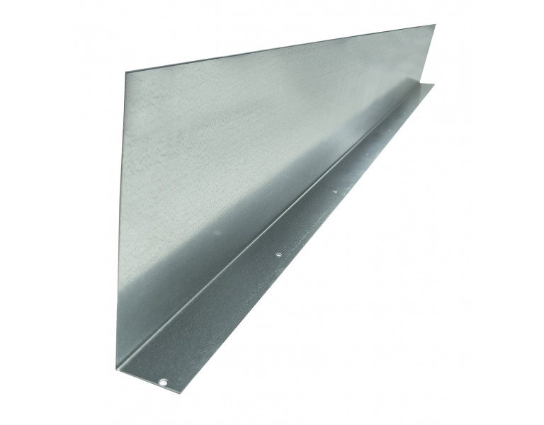 Metalen randkist 84° 210x2000 1,5 SV
