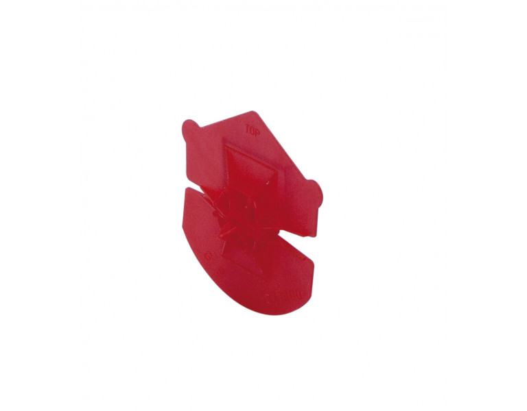 Uniclip rood zak 250 st 60/65 PP