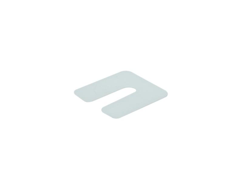 Uitvulplaatje transparant 1 50x50 KS