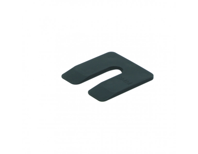Uitvulplaatje zwart doos 3 50x50 KS
