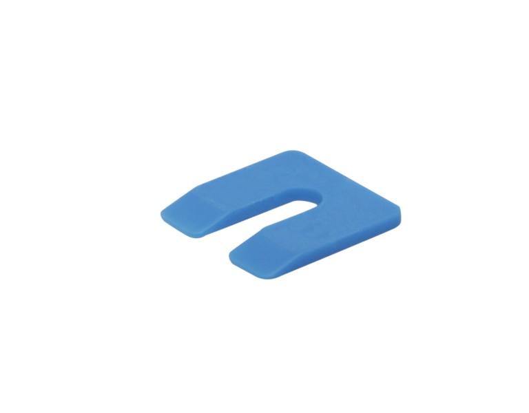 Uitvulplaatje blauw  zak 4 50x50 KS