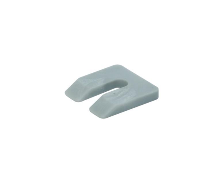 Uitvulplaatje grijs  zak 7 50x50 KS