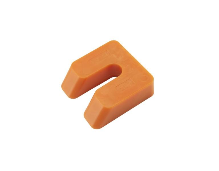 Uitvulplaatje oranje zak 15 50x50 KS