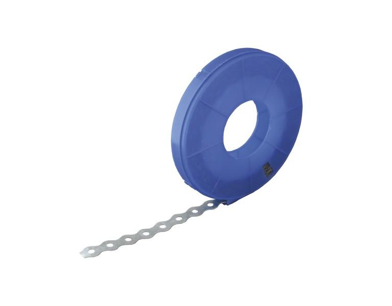 Montageband blauwe cassette - wave 10 mtr 17x0,8 SV