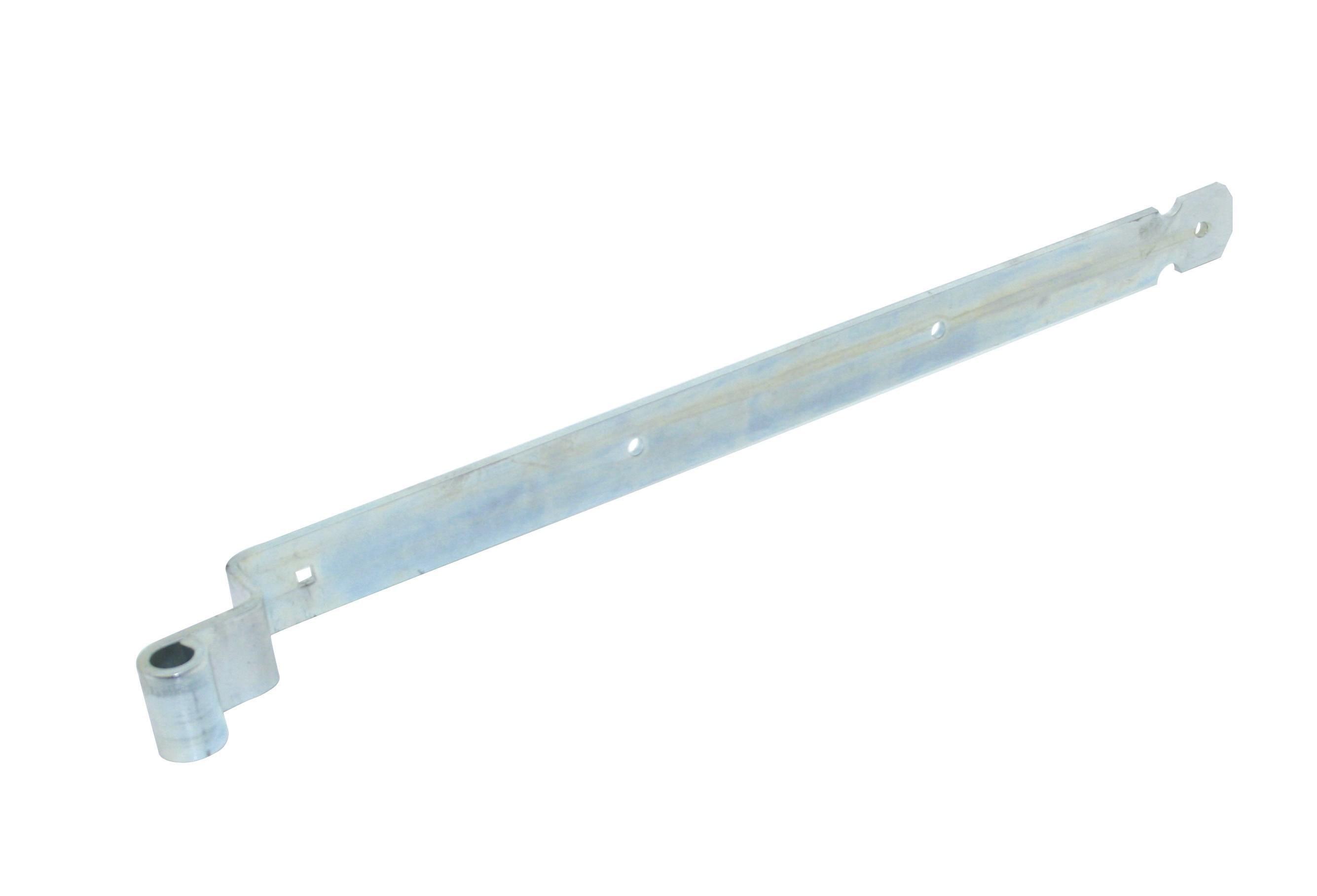 Penture coudée de volet battant penne Ø 16 750 45x6 EV