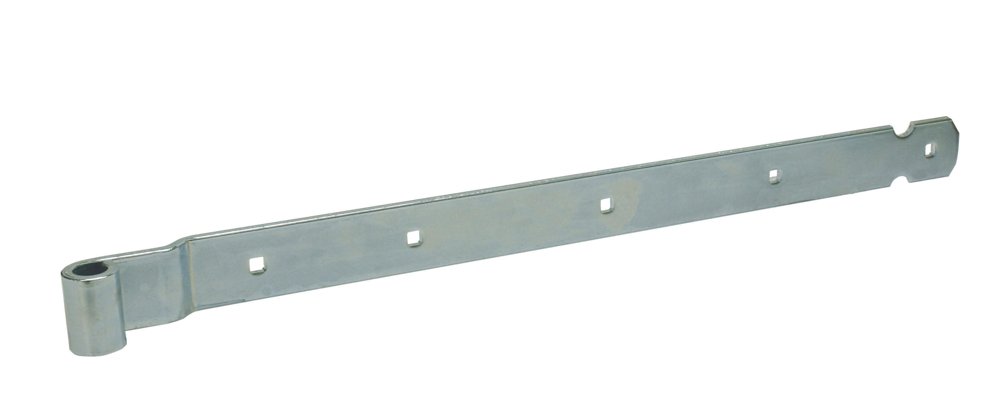 Penture coudée (utilisation plat) à trous carrés pour penne Ø 16 600 45x6 EV