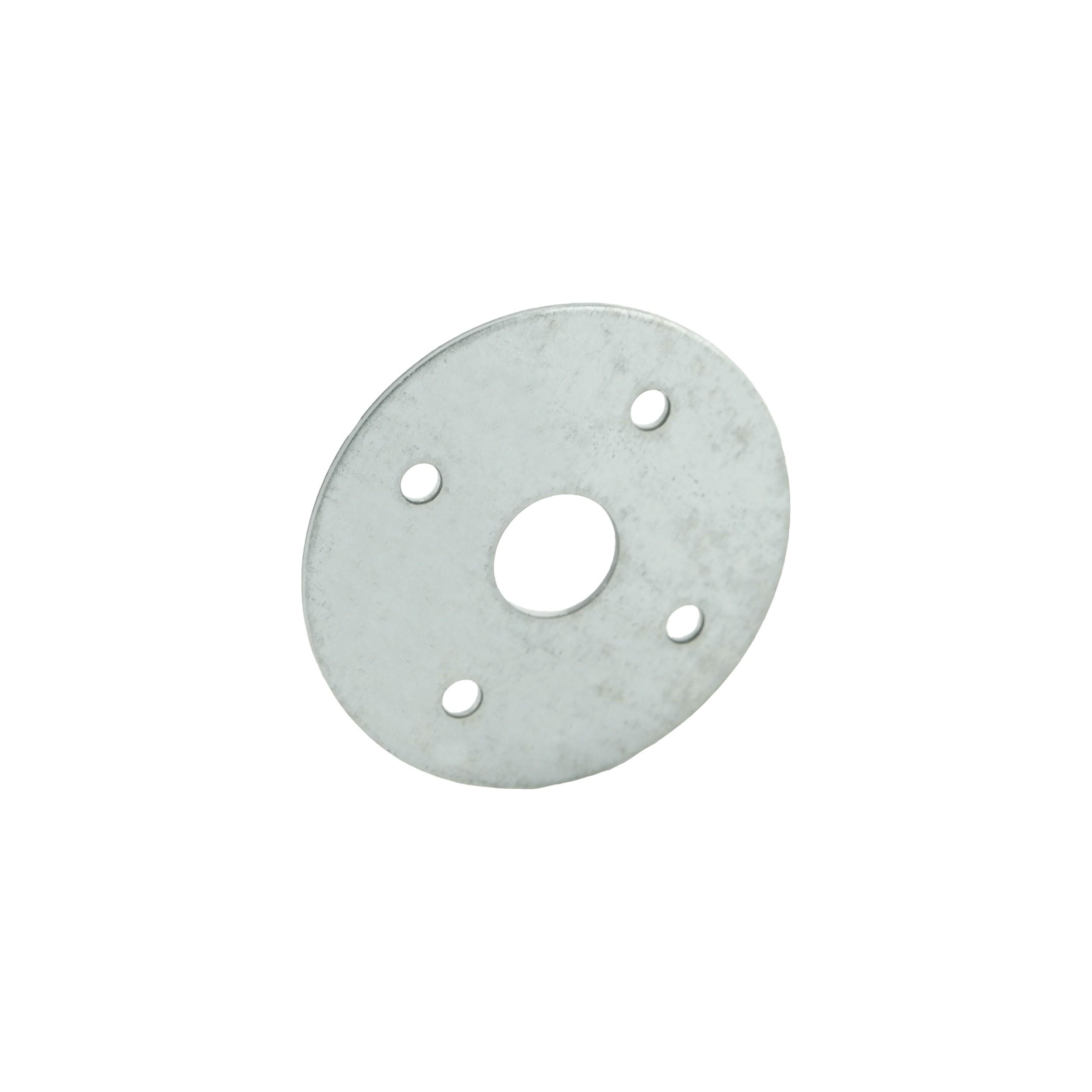 Loquet type paysan plaque Ø50 1,25 SV