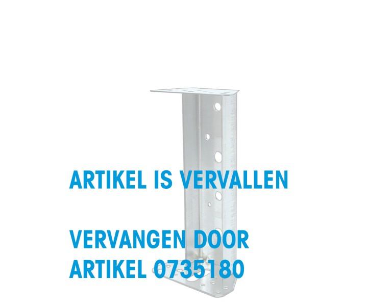 Support façade 60x70x180 115x2 SV