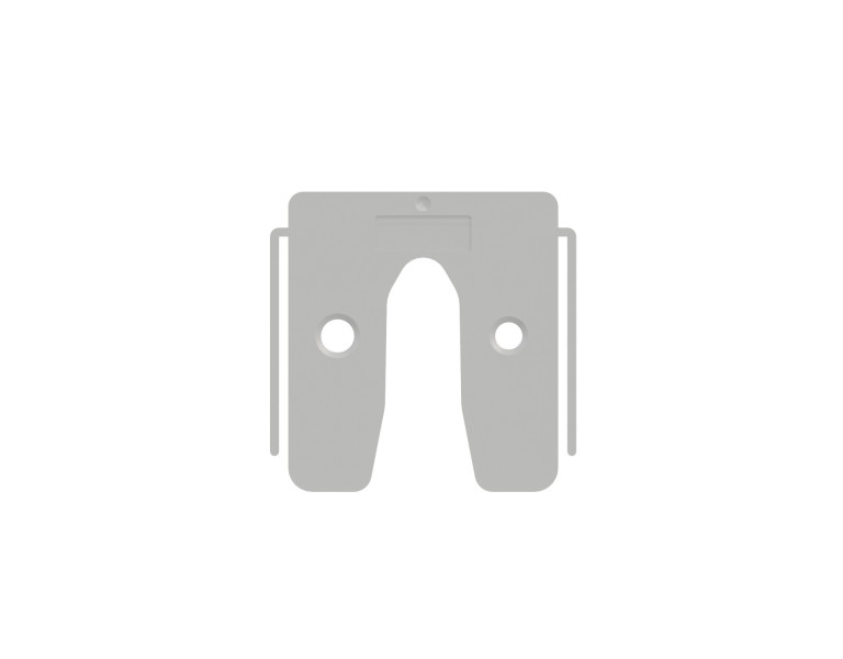 Plaques de calage transparent 1 50x50 KS