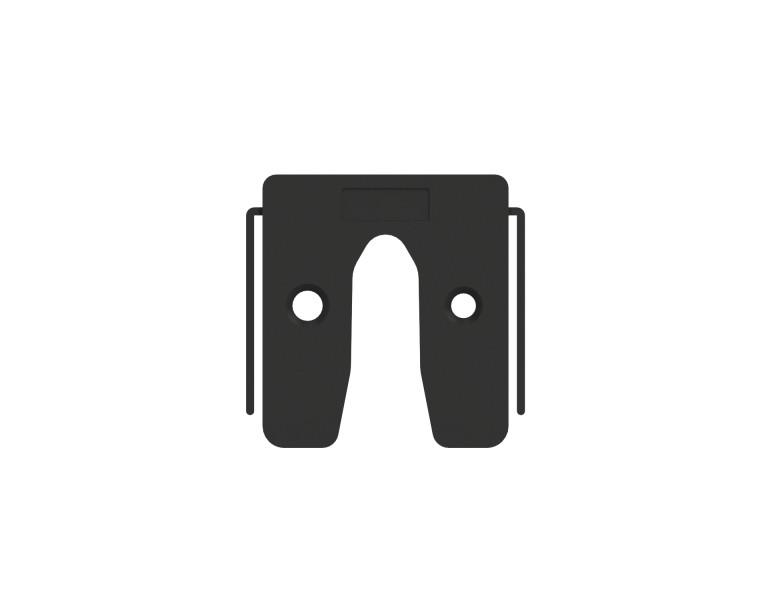 Plaques de calage noir 3 50x50 KS
