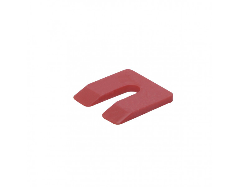 Plaques de calage rouge 5 50x50 KS