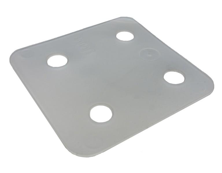 Plaques de pression transparent 1 70x70 KS