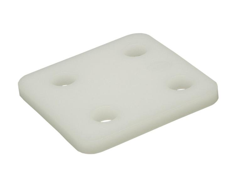 Plaques de pression transparent 6 70x70 KS