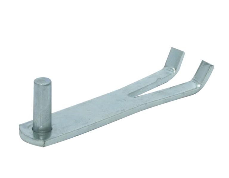 Pivot à sceller large d'une 1/1 brique penne Ø 16 Ø16x45 EV