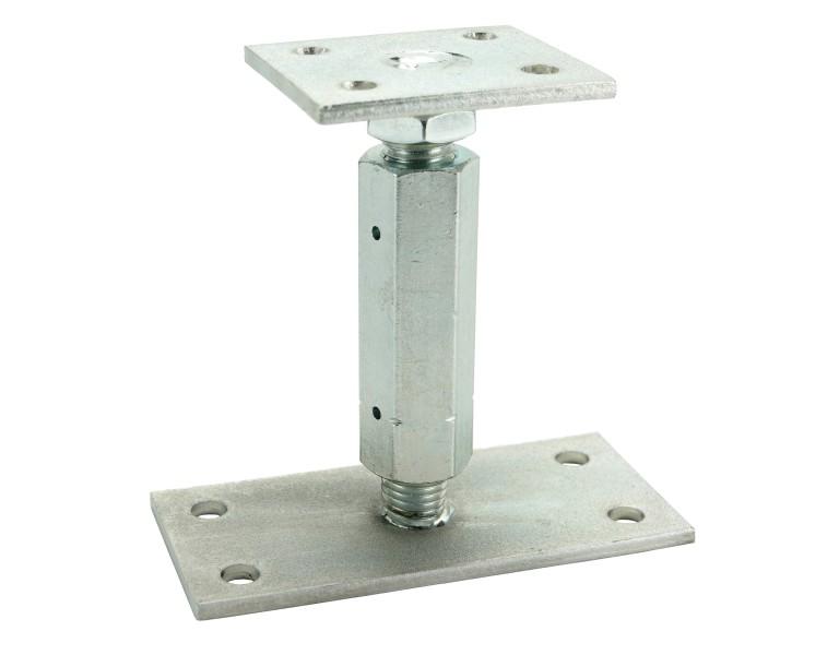 Support de colonne réglable en hauteur M20 200 150x70 EV