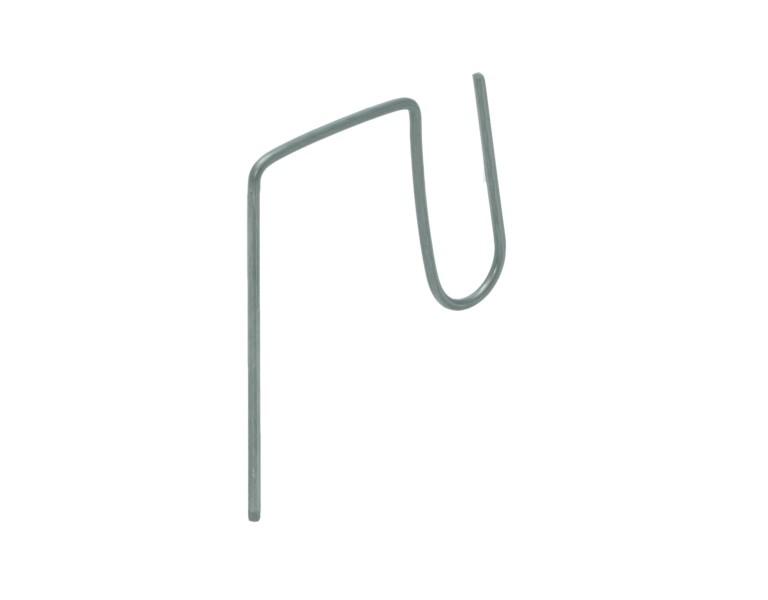 Crochet pour tuille Frisonne 85x50x60x60 Ø2,9 316 O.G.