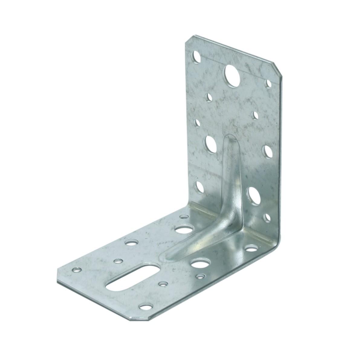 Corner bracket ridged 90x90 60x2,5 ZM