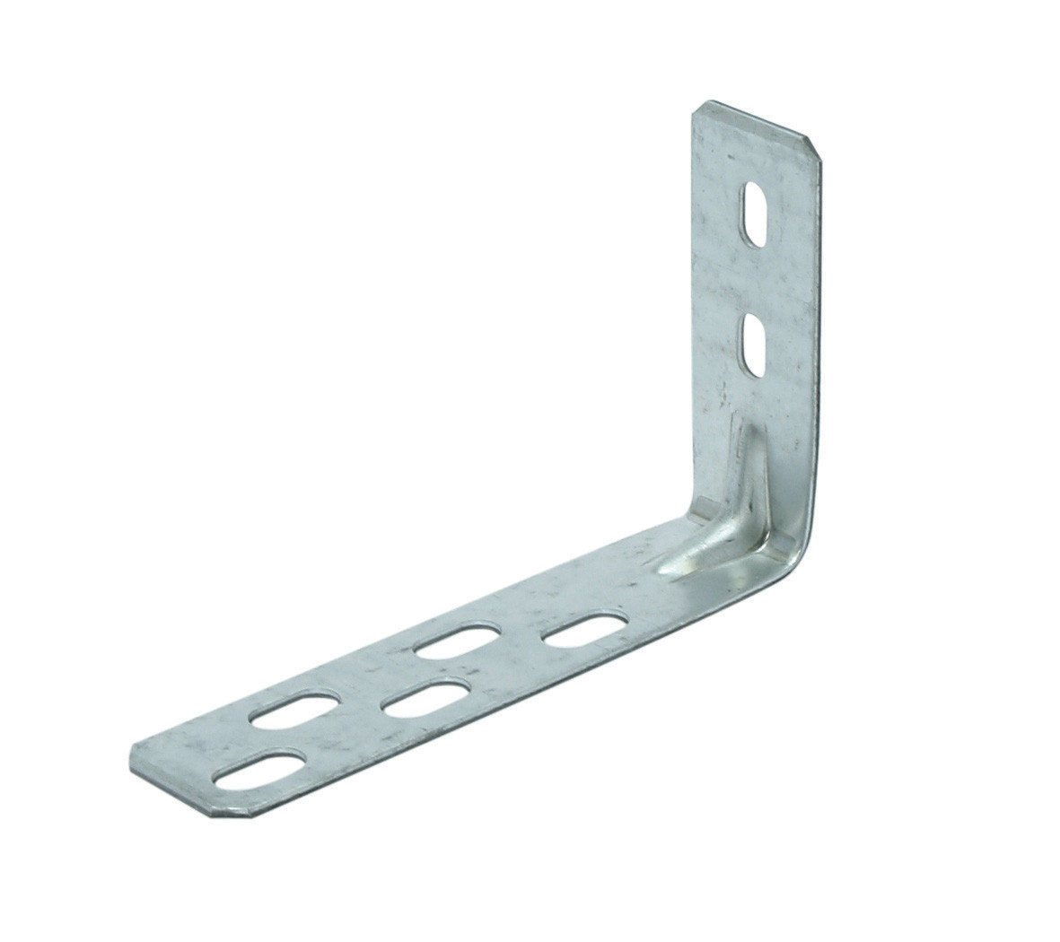 Frame corner with slotted hole 75x125 30x2 SV