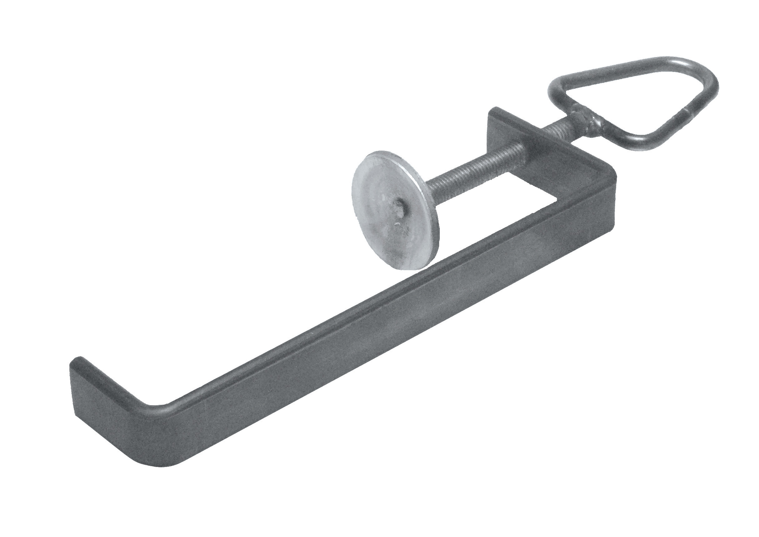 Bench-clamp for brickwork 240x70x40 30x8 EV