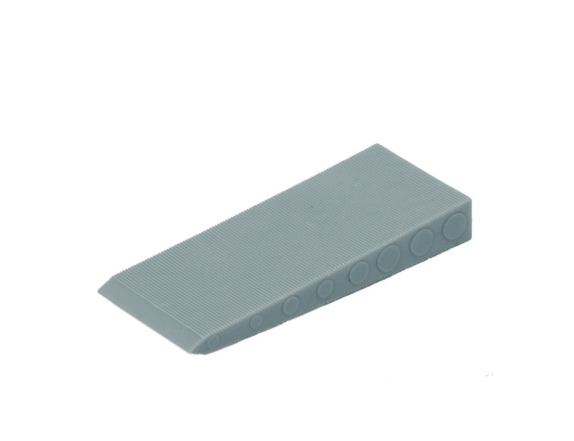 Folding wedge grey 70 30x10 KS