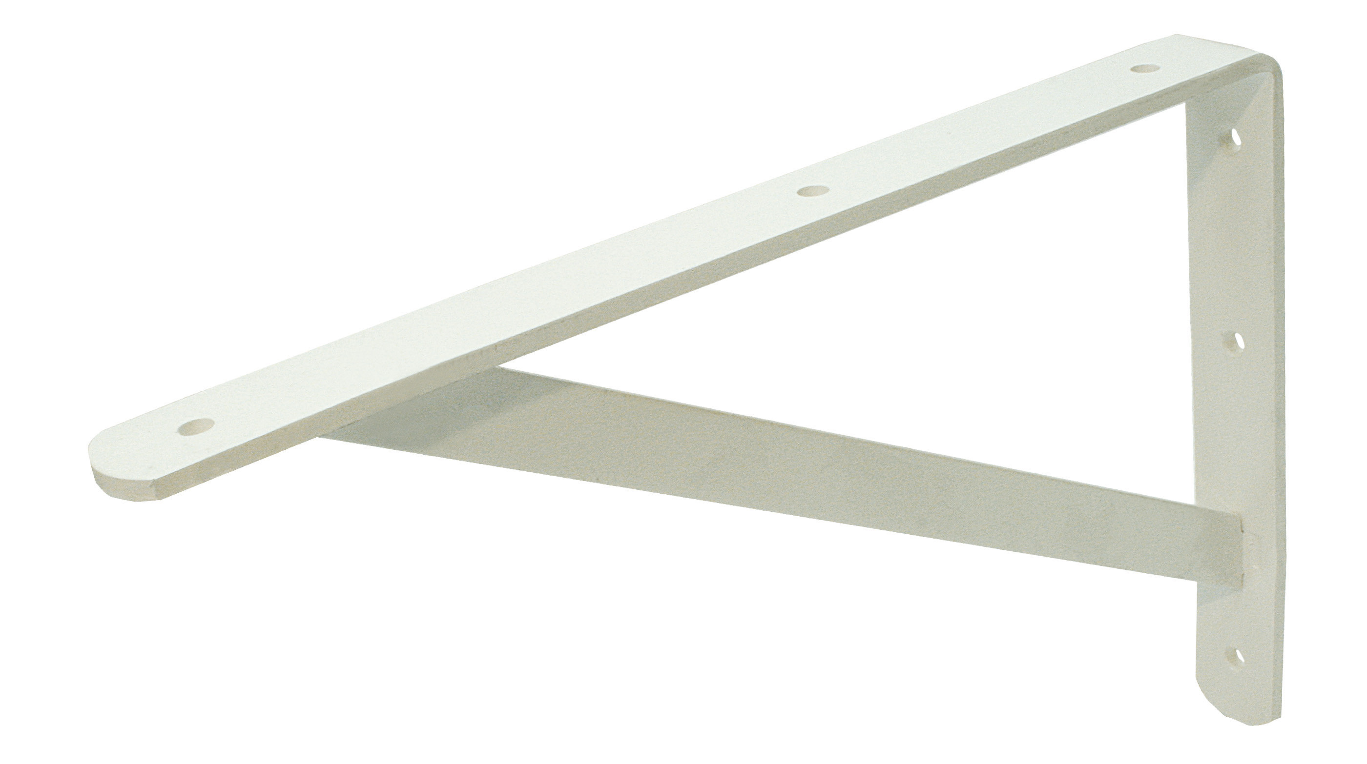 Shelf bracket white 300x500 30x4/20x4 EPW
