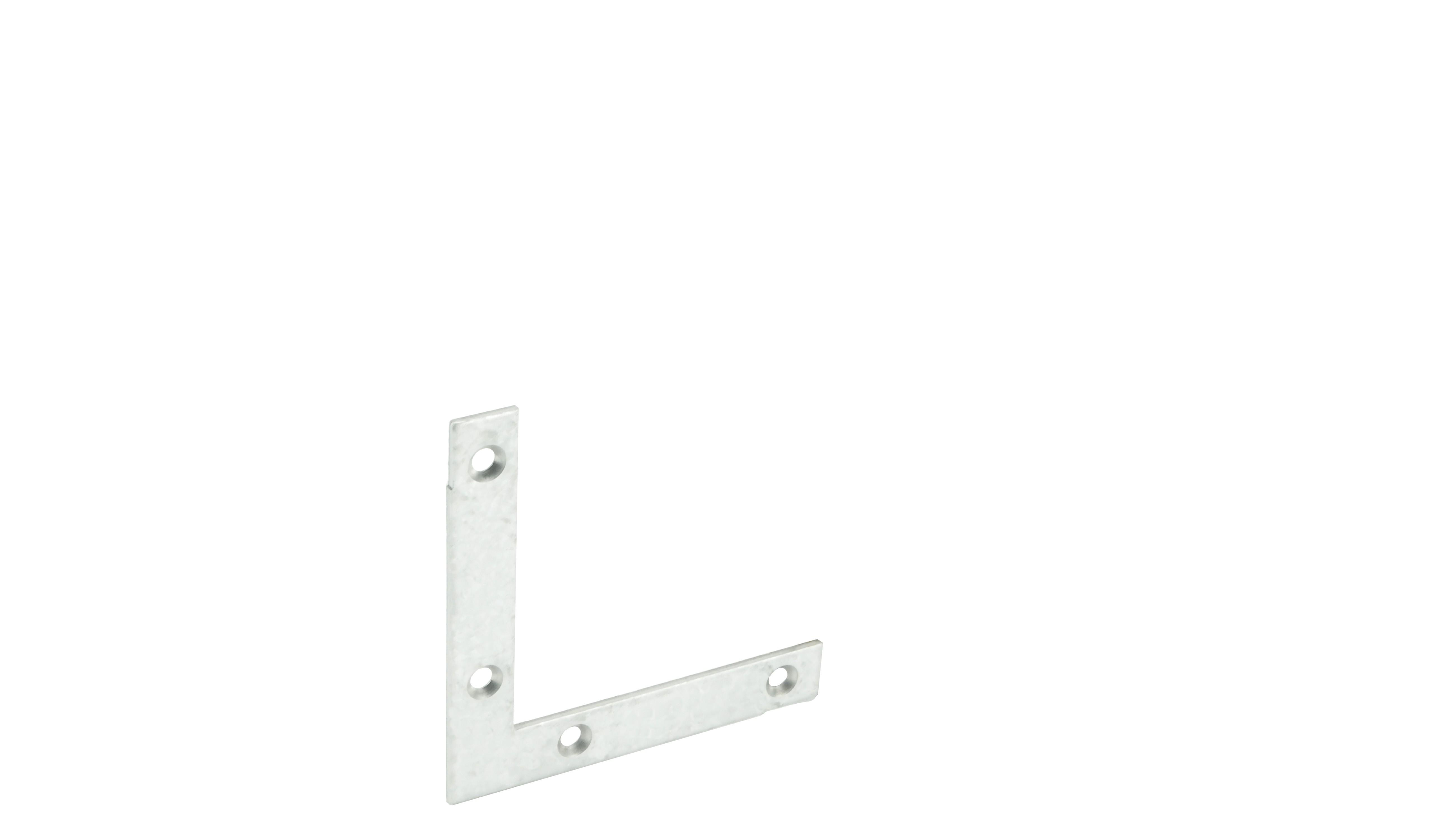 Flat corner iron flat 60x60 10x1,5 GA