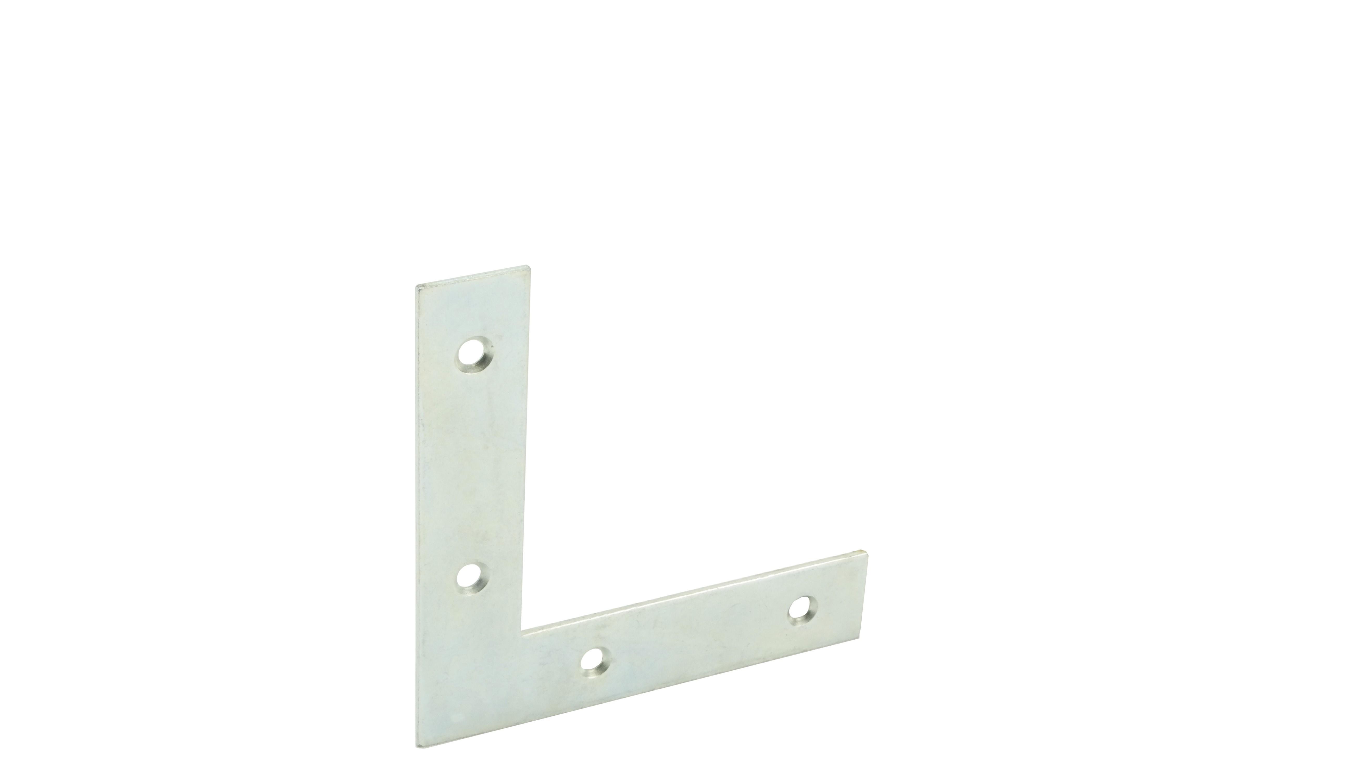 Flat corner iron flat 80x80 17x1,5 GA