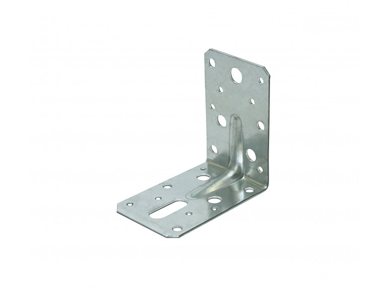 Angle bracket ridged 90x90 60x2 316