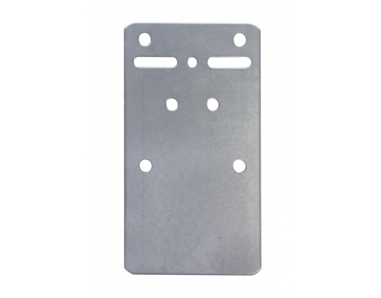 Mouting plate 102x60x1,5 SV