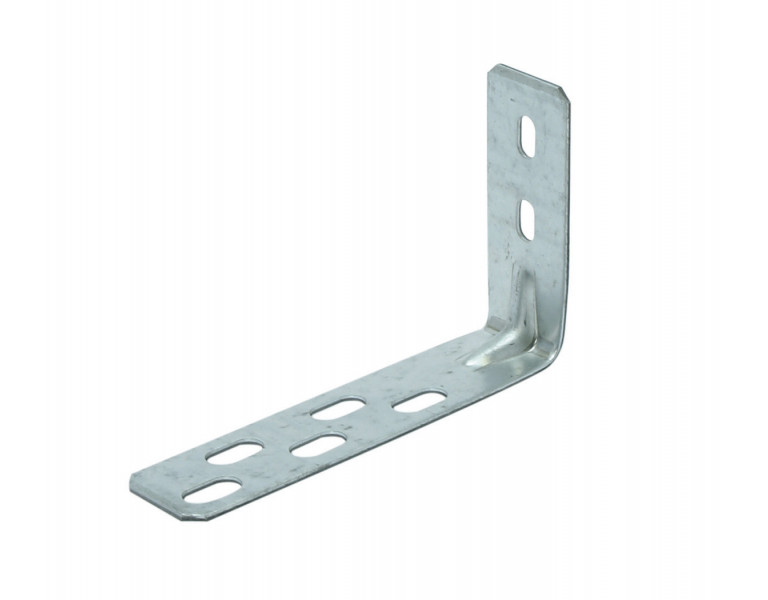 Angle bracket with slotted hole 75x125 30x2 SV