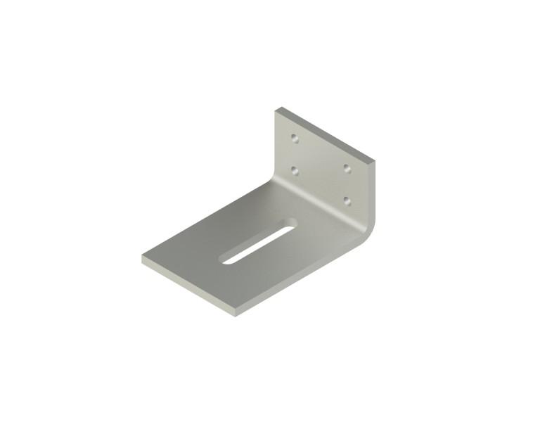 Concrete angle bracket 70x120 70x8 EV