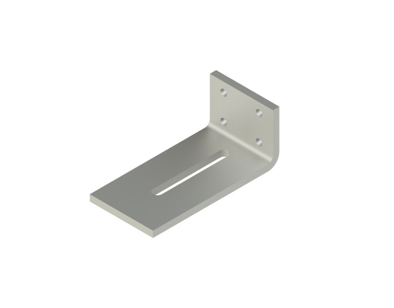 Angle bracket 70x120 80x10 TV