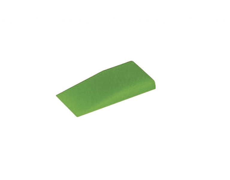 Folding wedge green 40 23x5 ABS