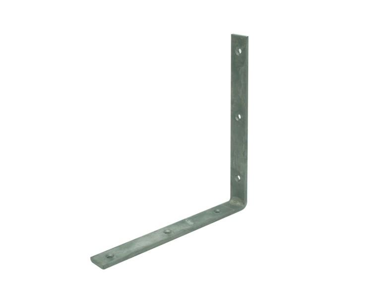 Angle bracket heavy duty 250x250 30x5 ZM S350